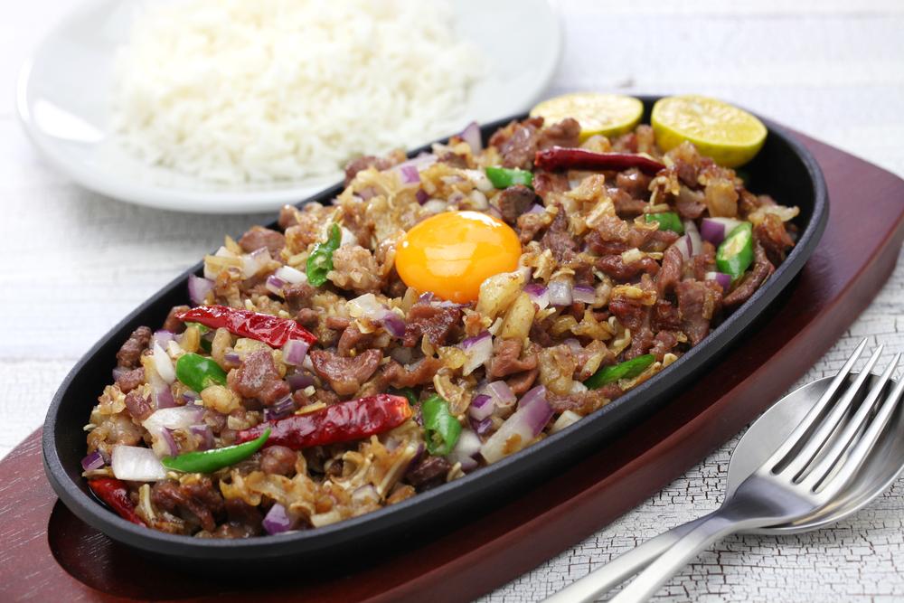 フィリピン料理 シシグ Sisig