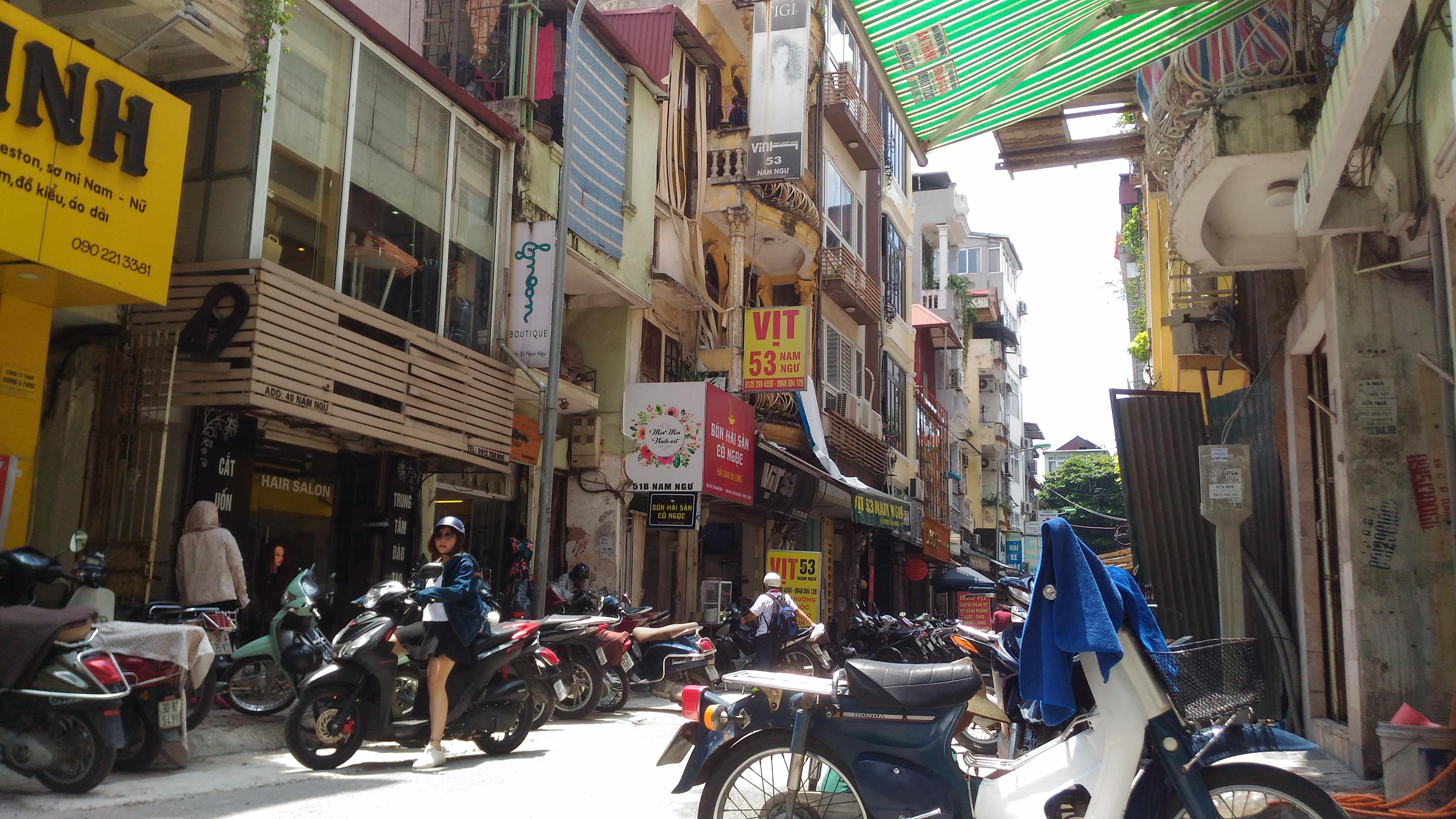 ベトナム ハノイの街