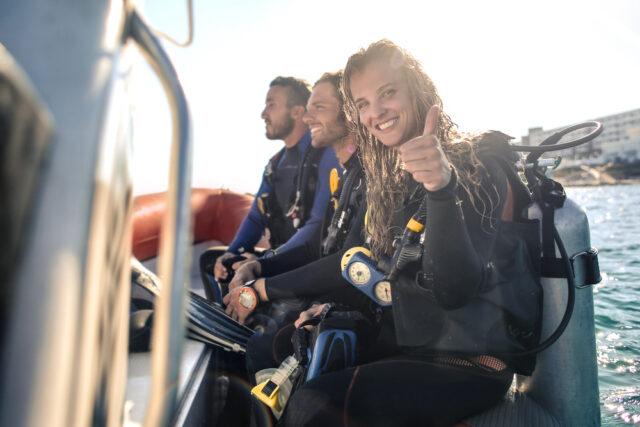 オーストラリアでダイビングのお稽古留学