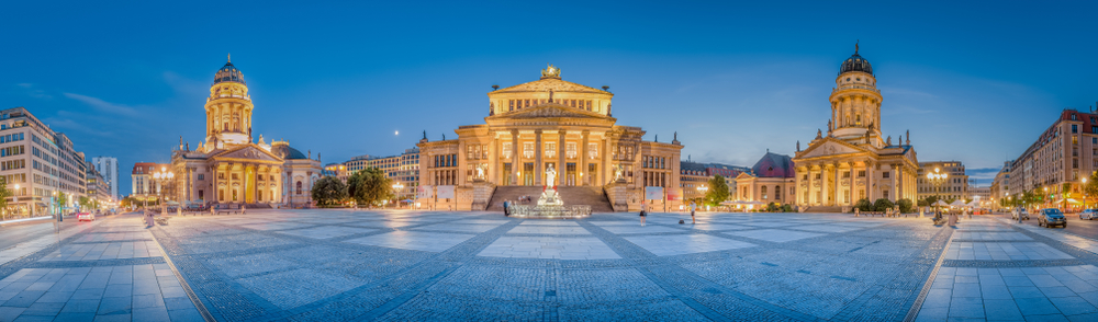 ドイツのコンサートホール