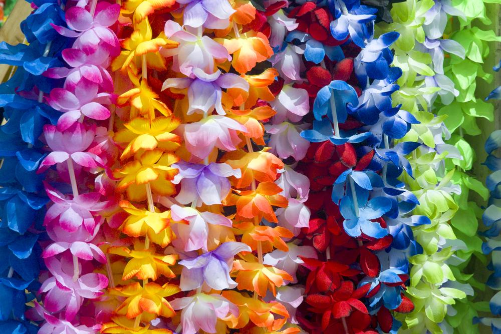 ハワイのレイ
