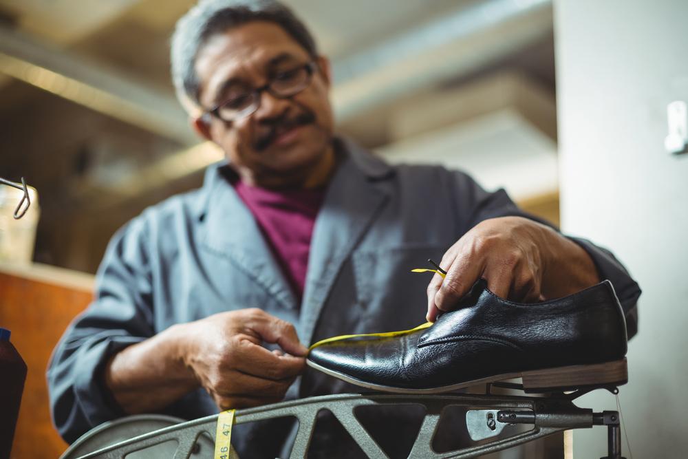 靴制作の職人