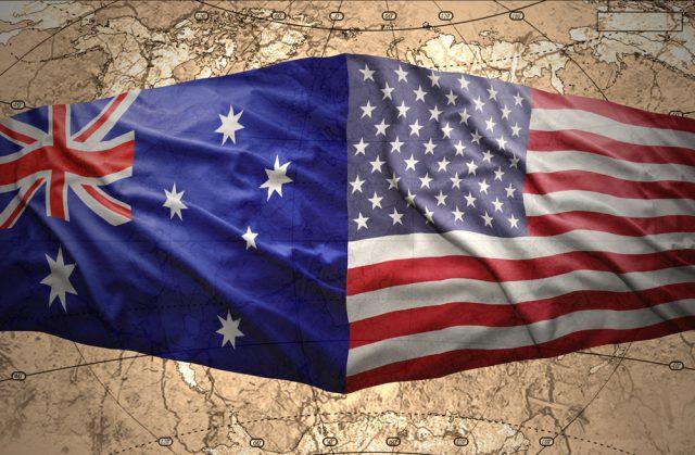 アメリカ オーストラリア