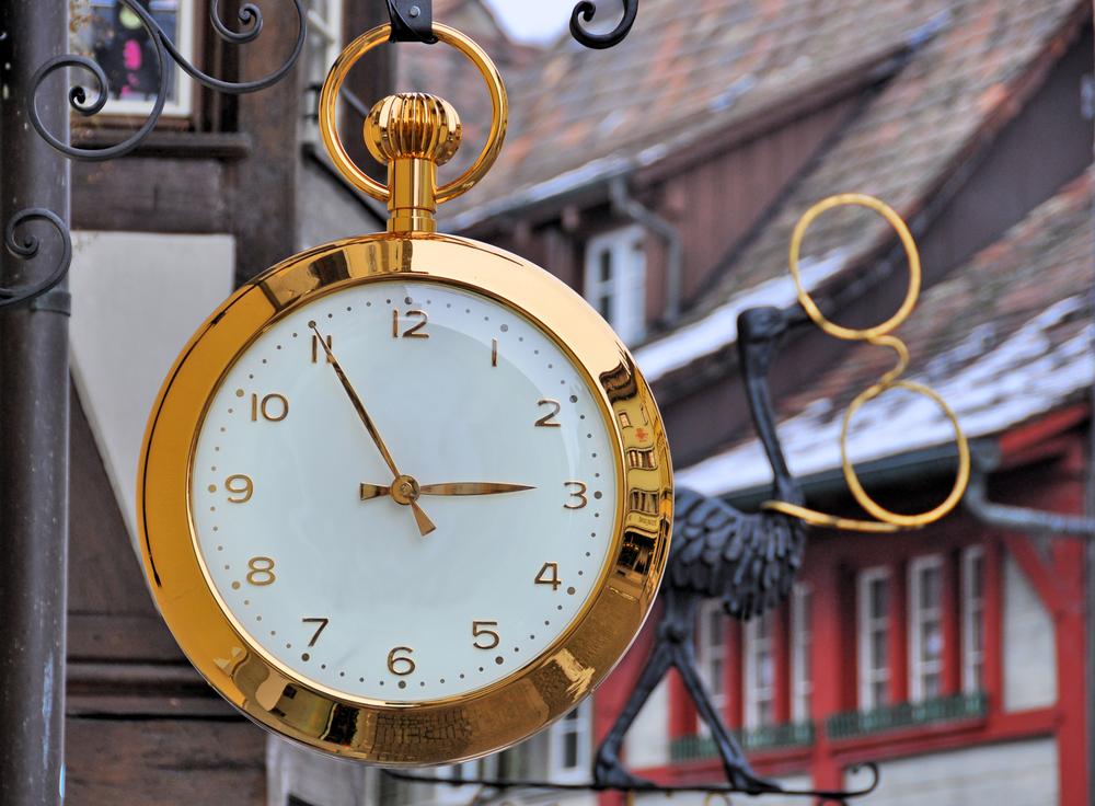 スイスの時計