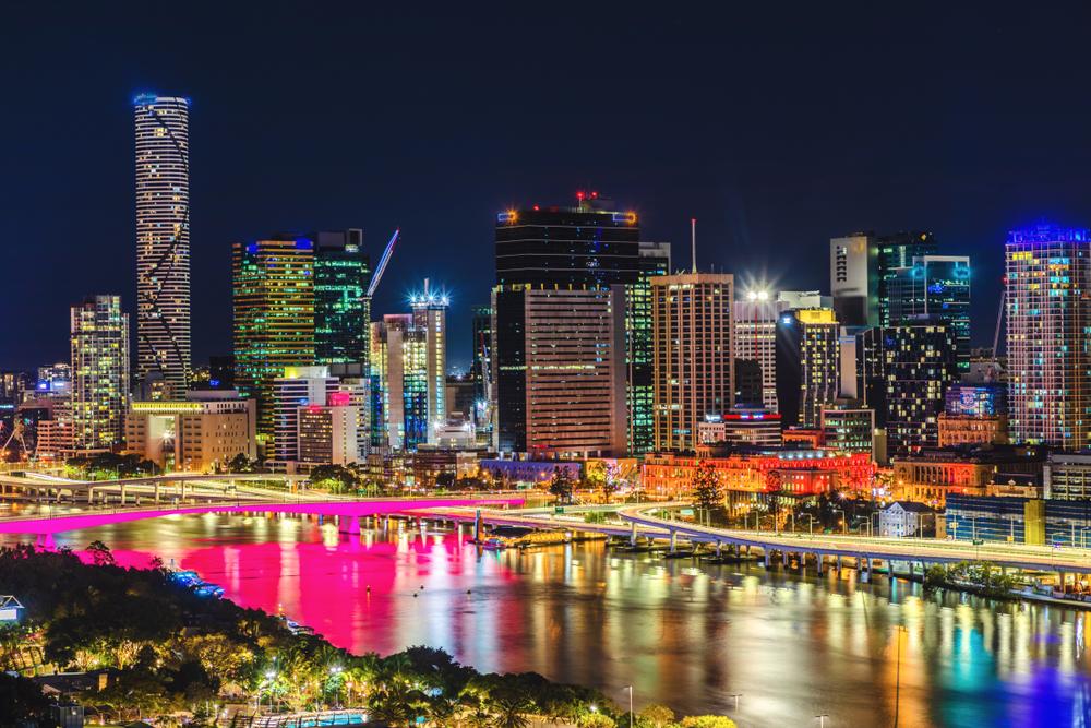 オーストラリアの夜景