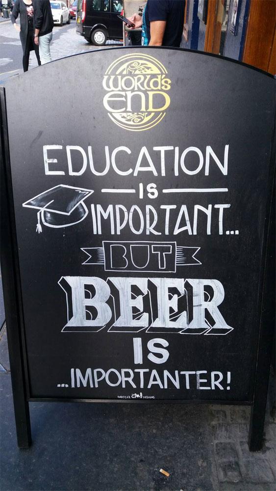 ドイツビールの店