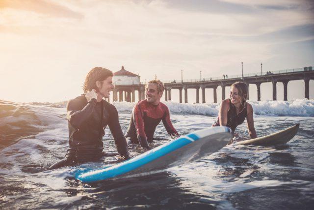 ハワイでサーフィンのお稽古留学