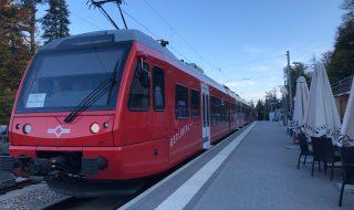 スイス チューリッヒの電車