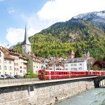 スイス国内の交通機関のなぞに迫る!意外とラクチン?!
