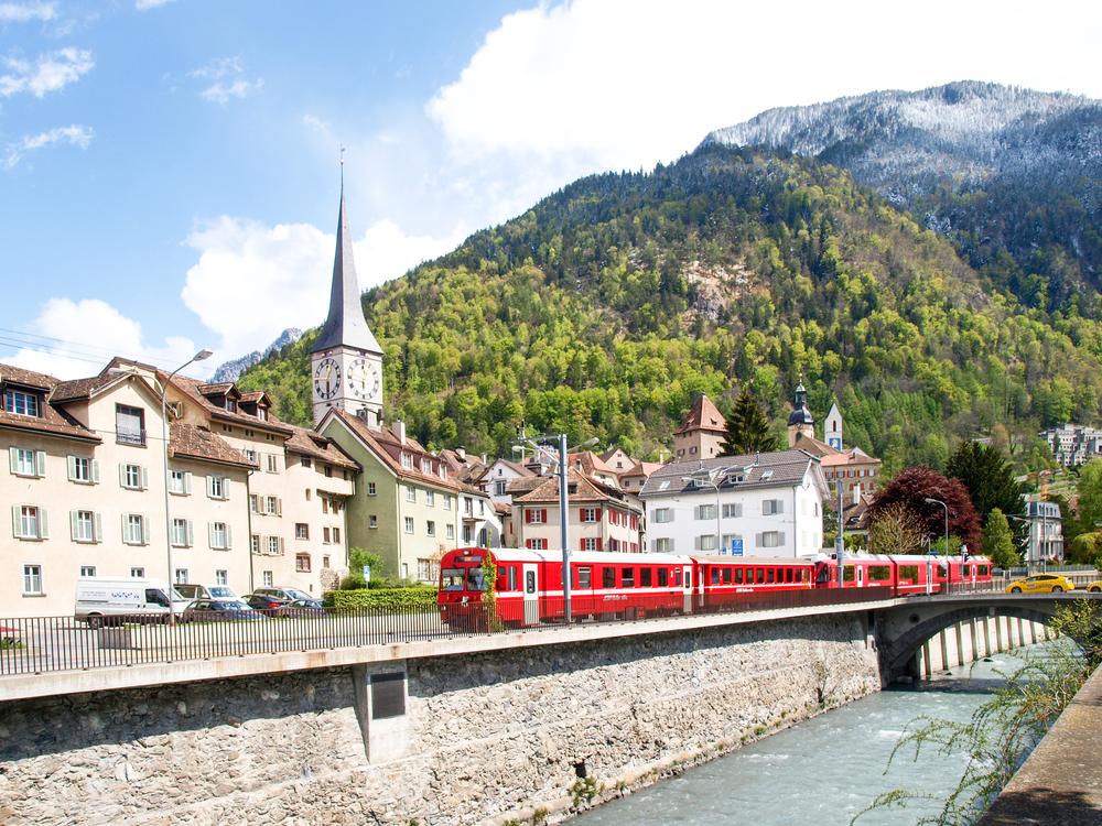 スイスの交通機関