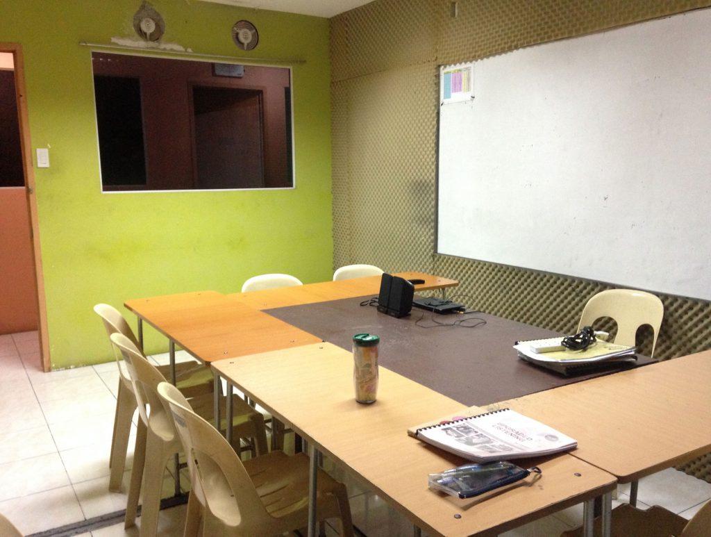 語学学校の教室