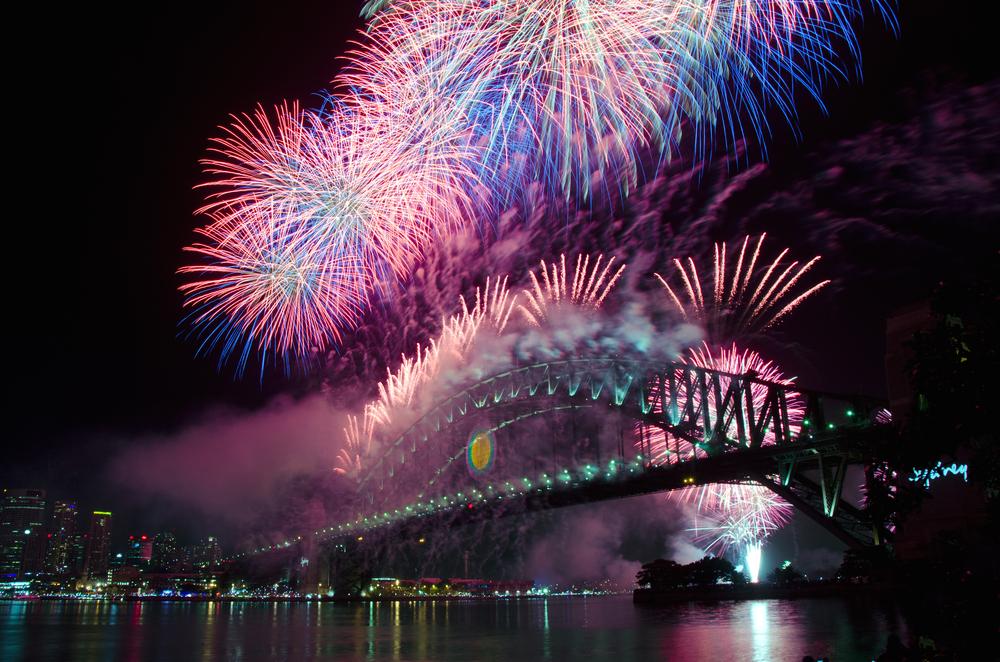 オーストラリアの花火