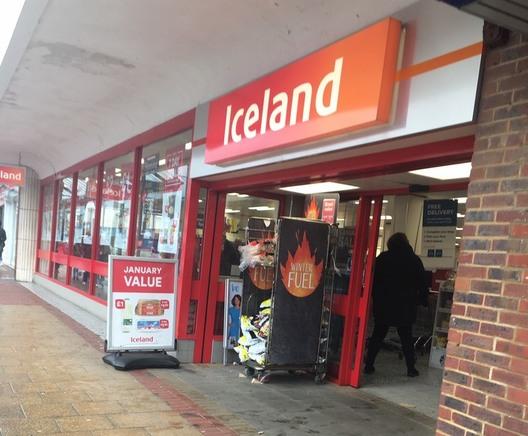 イギリスのお店Iceland