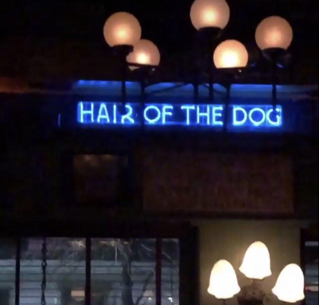 ニューヨークのバーHair Of The Dog