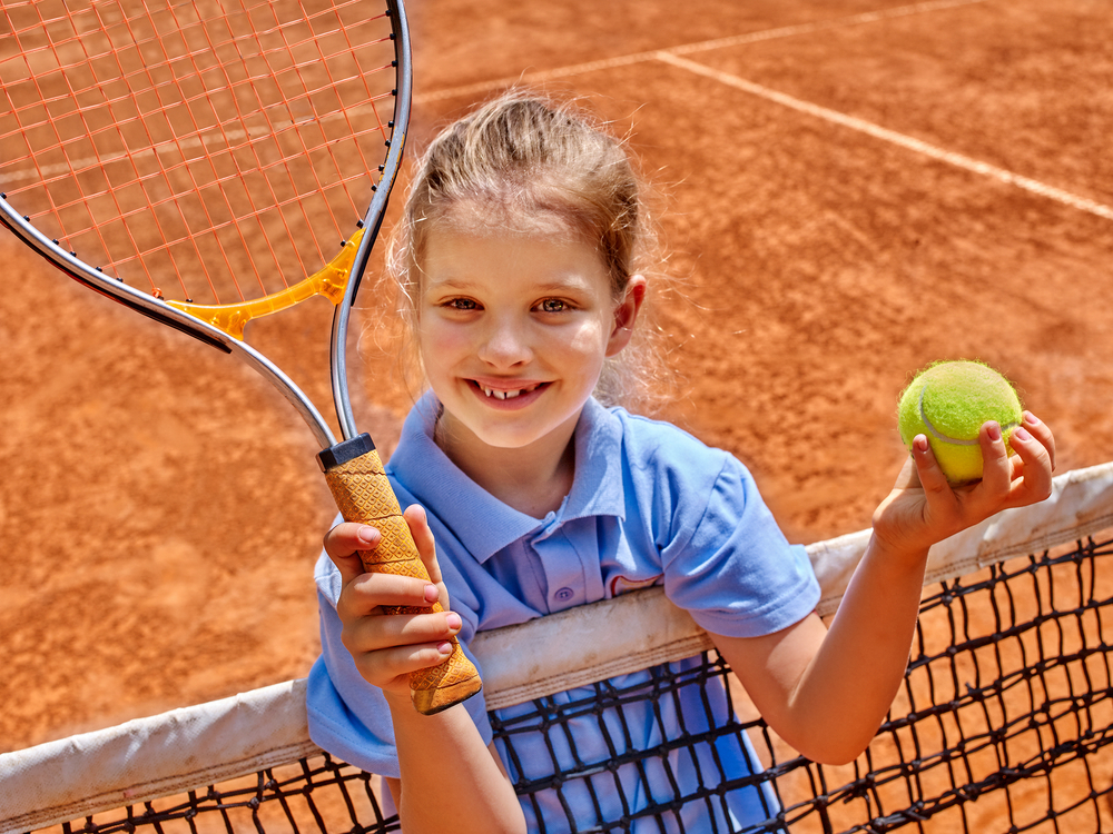 テニス子供