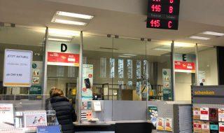 スイスの郵便局