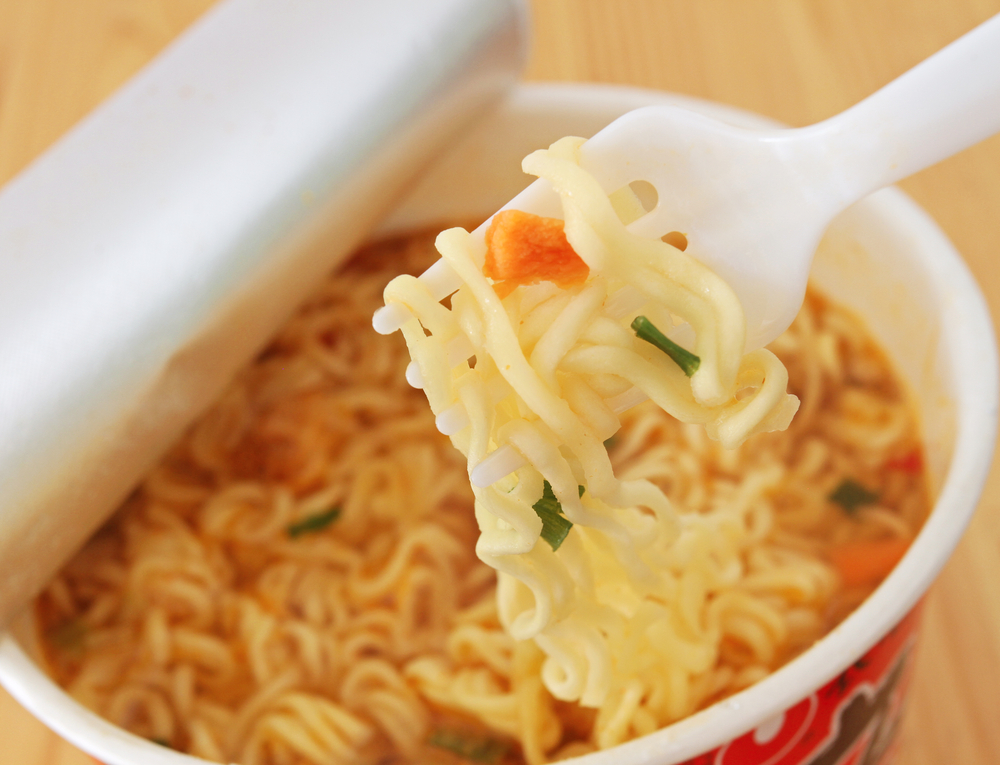 日本のインスタント食品