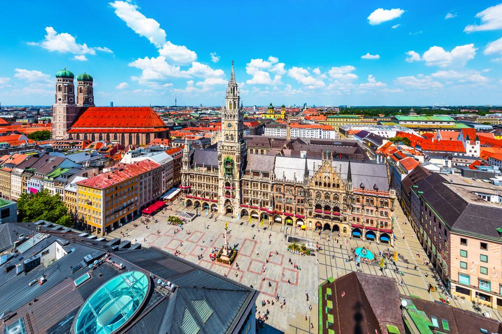 ドイツ ミュンヘンで2週間の短期語学留学