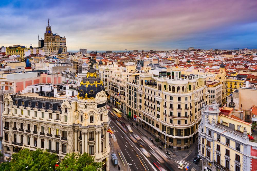 スペイン マドリードで2週間の短期語学留学