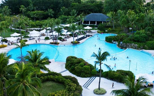 フィリピンセブ島のリゾートホテル