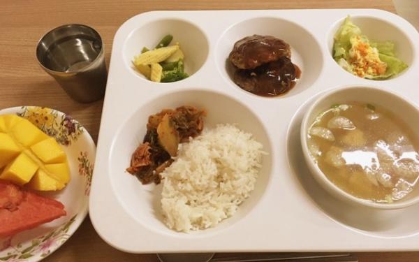 フィリピン セブ島留学 寮の食事