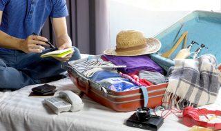イギリス留学の荷物