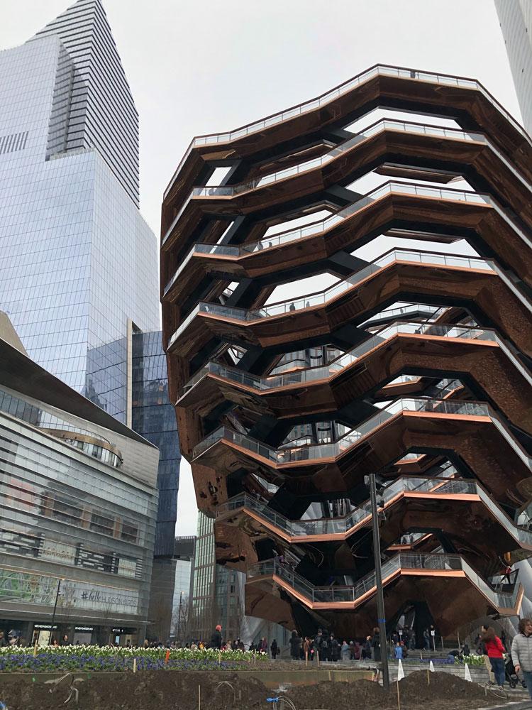 ニューヨークのThe Vessel
