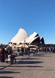 オーストラリア シドニーのオペラハウス