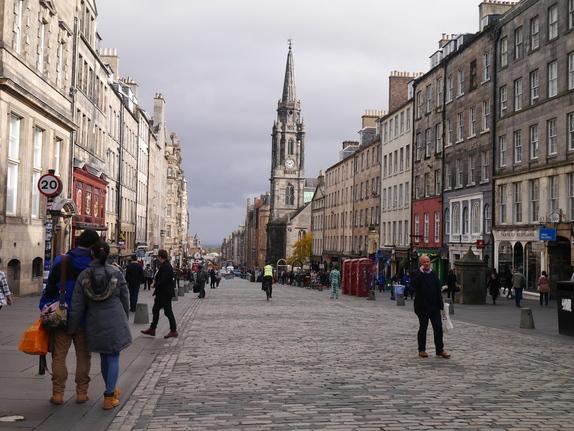 スコットランド エディンバラの街並み