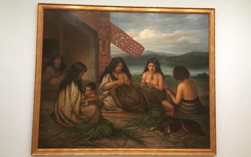 ニュージーランドAuckland Art Galleryの展示物
