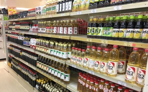 ニュージーランドJapan Martの調味料売り場