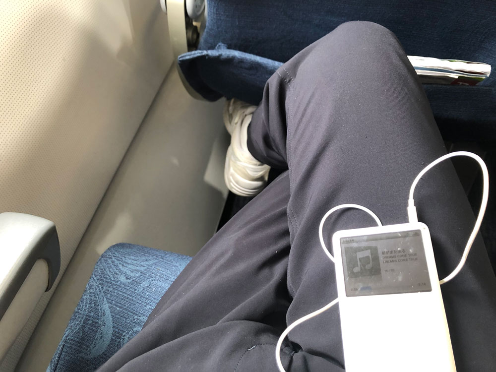 エアチャイナの飛行機内