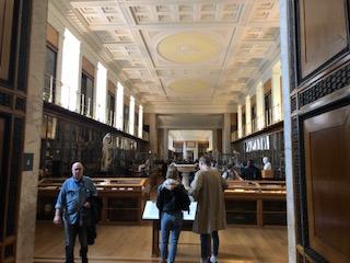 留学中に大英博物館見学