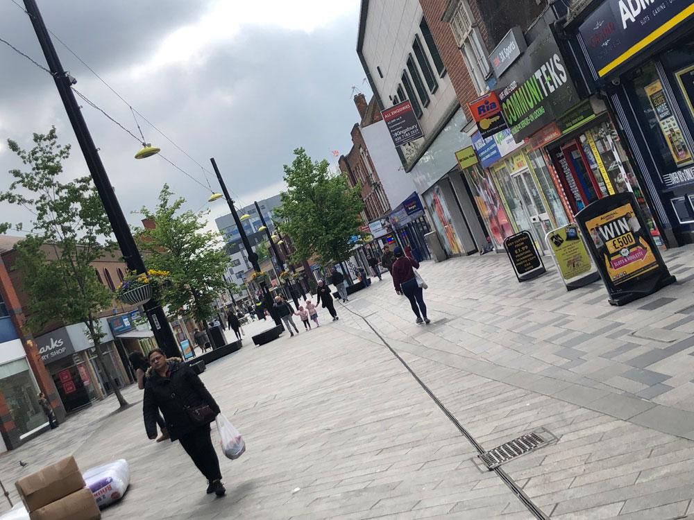 イギリスのストリート