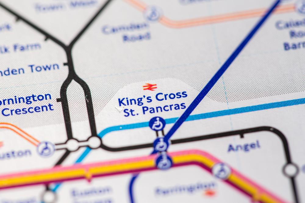 イギリス ロンドン キングスクロス