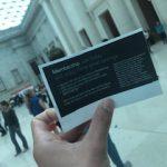 イギリス留学中に、大英博物館で開催されて日本のマンガ展に行ってみた