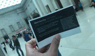 イギリス留学中に大英博物館見学