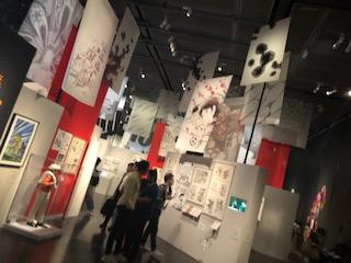 イギリス大英博物館のマンガ展