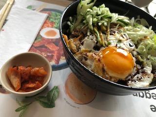 イギリスの日本食レストランの料理