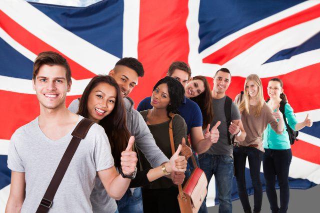 イギリス学生