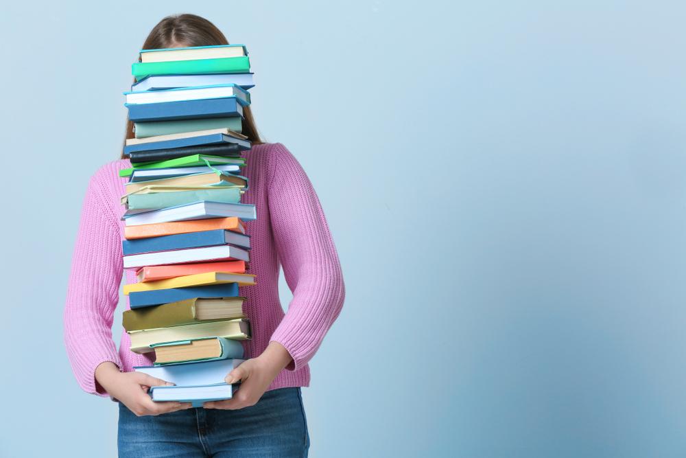 留学中の教科書