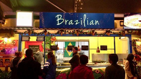 ブリスベン イートストリートのブラジル料理店