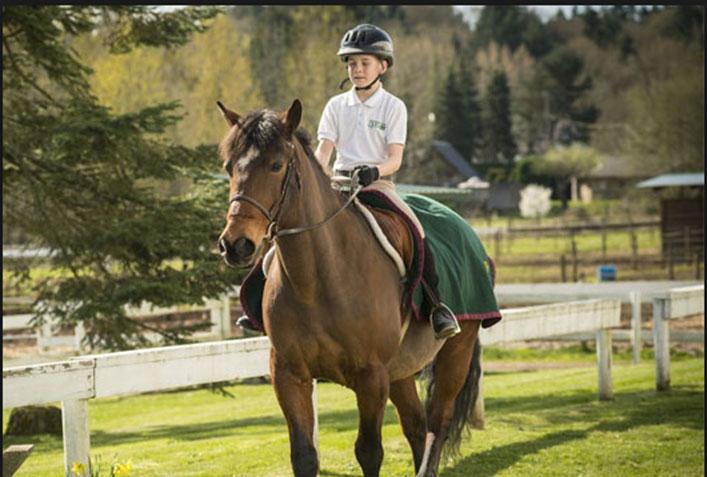 カナダ高校スポーツ留学 乗馬