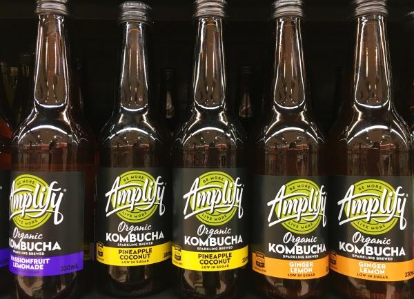 ニュージーランドで流行っているKombucha