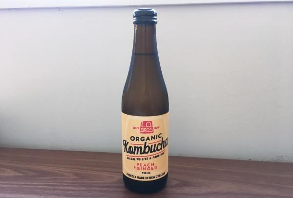 ニュージーランドで購入したKombucha