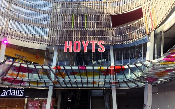 ニュージーランドのショッピングセンターSylvia Parkの映画館