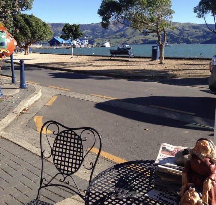 ニュージーランドの街中の風景