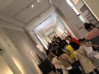 イギリス ロンドンでクリスチャンディオールの展示館