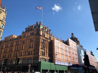イギリスのデパート ハロッズの外観
