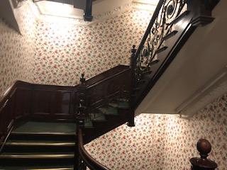 イギリス ハロッズの階段